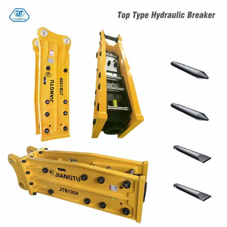 top type Hydraulic Breakers(Hammers)