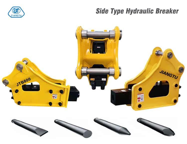 side type Hydraulic Breakers(Hammers)