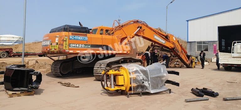 How To Install Hydraulic Grapple On The Excavator?