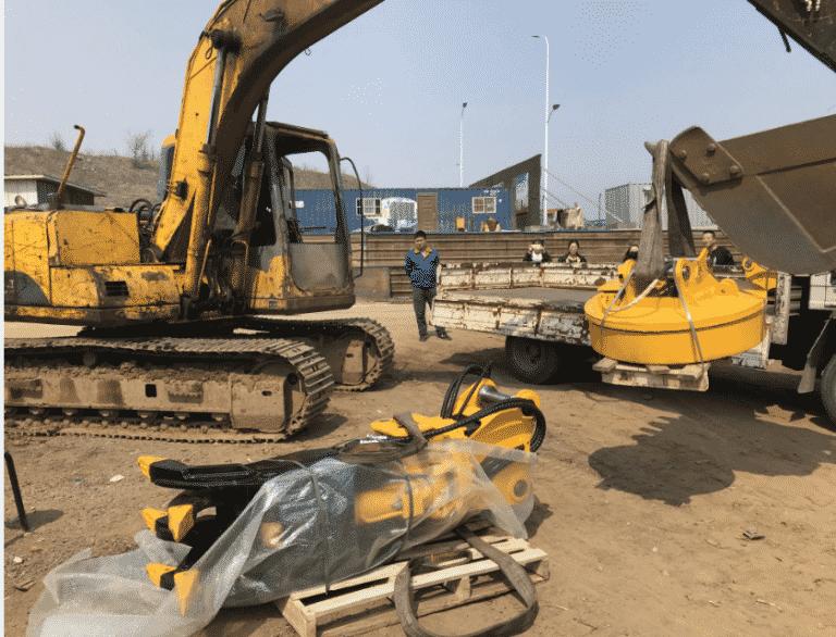 Excavator Electromagnet
